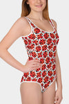Ladybug Youth Swimsuit - SeeMyLeggings