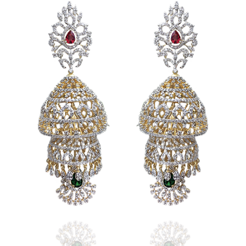 A Luxurious Pair - Sneha Rateria Store