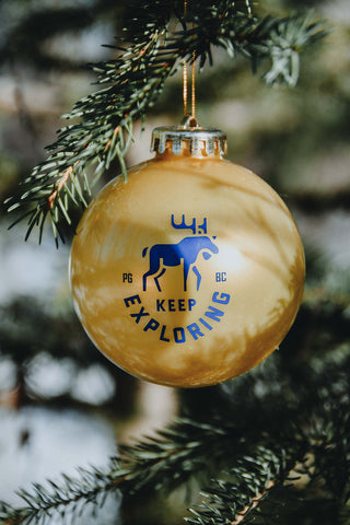 Keep Exploring Christmas Ornament