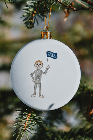 Mr. PG Christmas Ornament