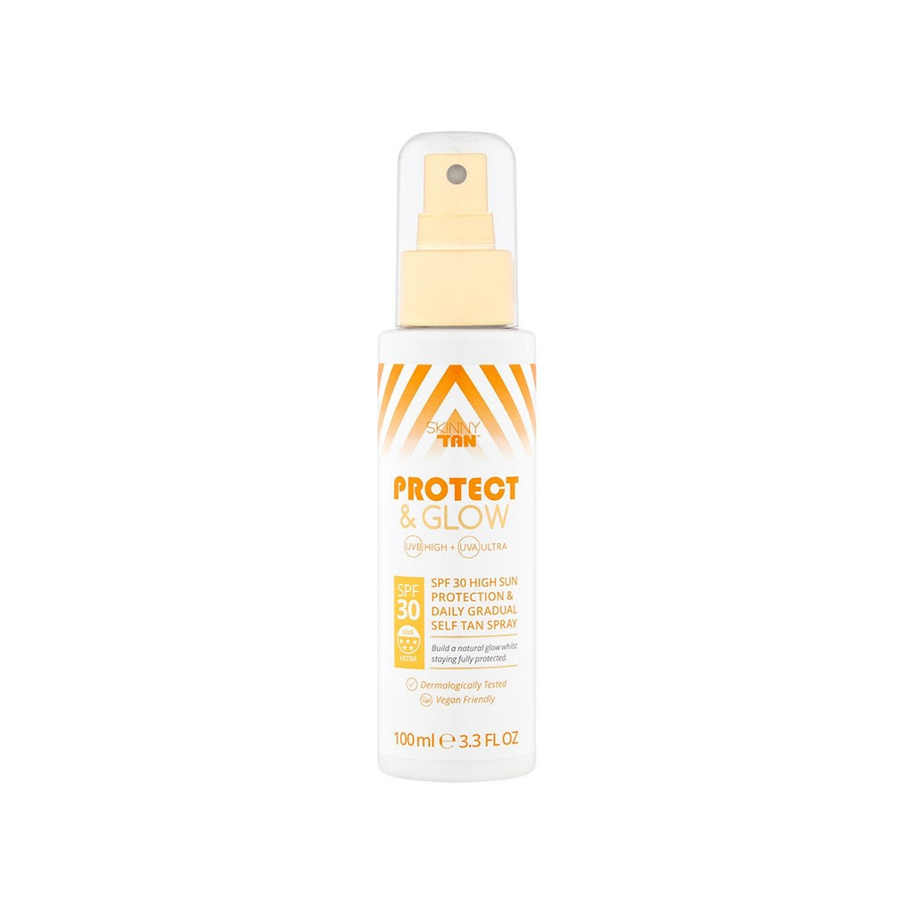 SKINNY TAN PROTECT & GLOW SPRAY SPF30 100ml