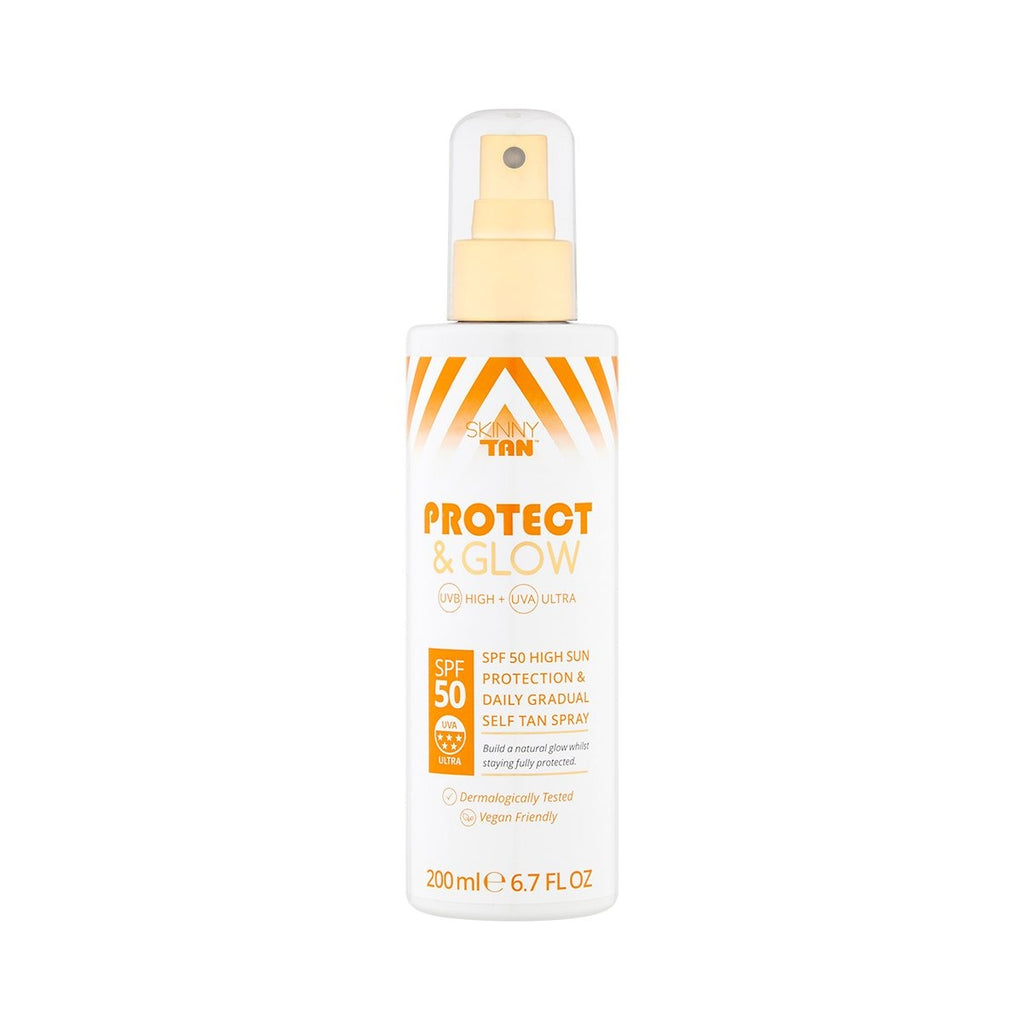 SKINNY TAN PROTECT & GLOW SPRAY SPF50 200ml - Skinny Tan SA
