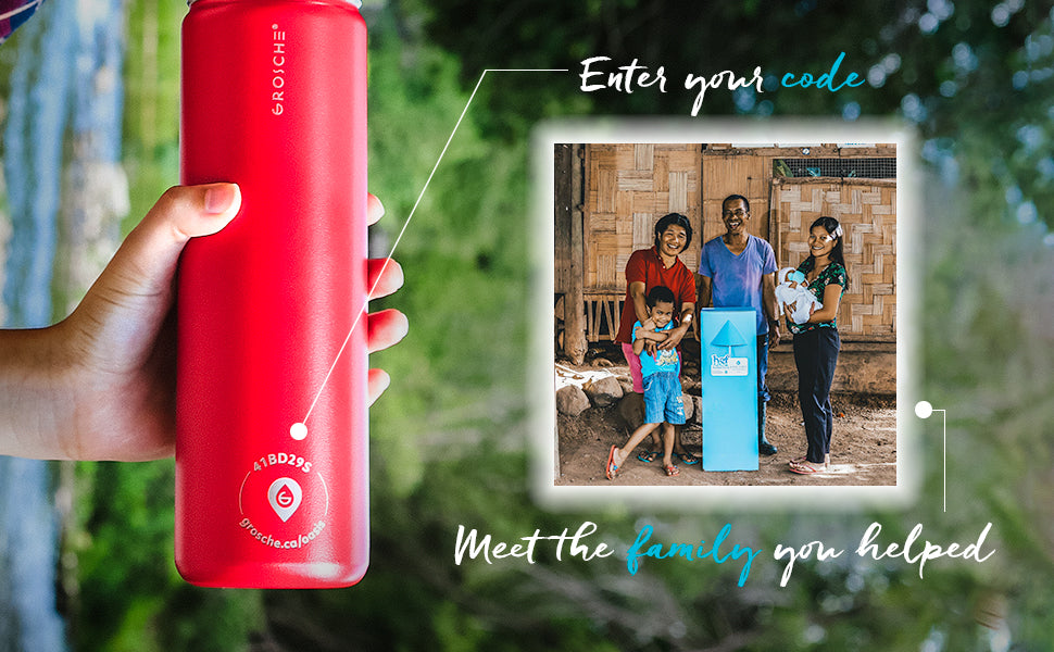 change a life with the gift that gives back grosche oasis swell yeti hydro flask