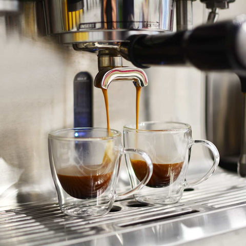 grosche turin espresso double walled glass cups