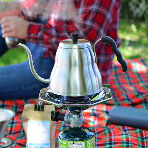 camping kettle pour over