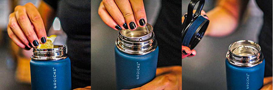 insulated stainless steel water bottle flask swell hydro flask yeti bottle