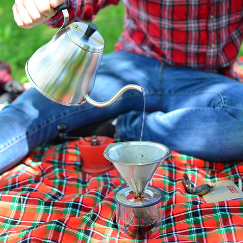 camping coffee maker pour over