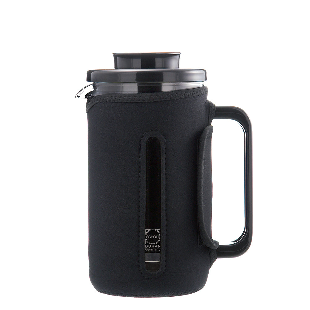 French Press: GROSCHE Brenton, 1000ml/34 fl. oz/8 cup, with removable insulated jacket - Package of 2