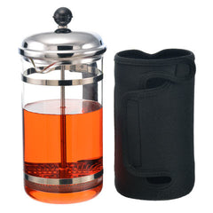 French Press: GROSCHE Fino, 1000ml/34 fl. oz/8 cup, with removable insulated jacket - Package of 2