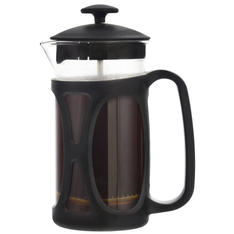 French Press: GROSCHE Basel - Black, 350ml/11.8 fl. oz - Package of 4