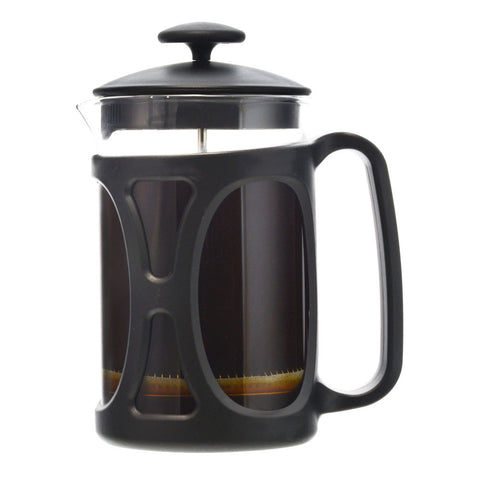 French Press: GROSCHE Basel - Black, 800ml/ 28 fl. oz - Package of 4