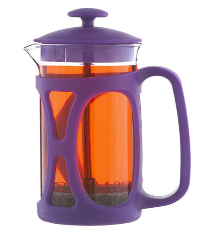 French Press: GROSCHE Basel - Purple, 800ml/ 28 fl. oz - Package of 4