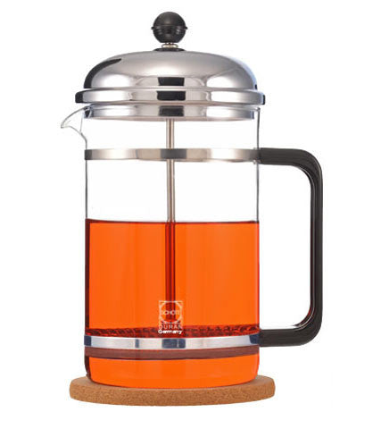 French Press: GROSCHE Denver with cork base - 1500ml//51 fl. oz - Package of 2