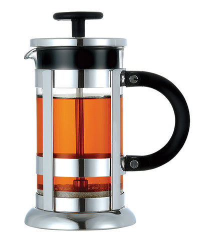 French Press: GROSCHE Chrome - 350ml/11.8 fl. oz/3 cup- Package of 4