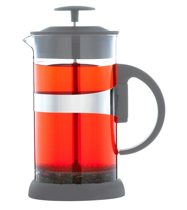 French Press: GROSCHE Zurich, Grey - 8 cup, Package of 4