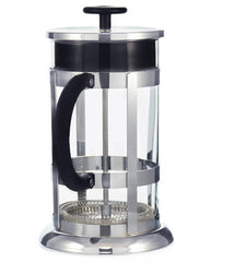 French Press: GROSCHE Chrome - 1000ml/34 fl. oz/8 cup - Package of 2