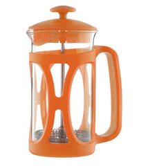 French Press: GROSCHE Basel - Orange, 350ml/11.8 fl. oz - Package of 4