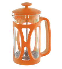 French Press: GROSCHE Basel - Orange, 800ml/ 28 fl. oz - Package of 4