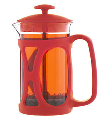 French Press: GROSCHE Basel - Red, 800ml/ 28 fl. oz - Package of 4