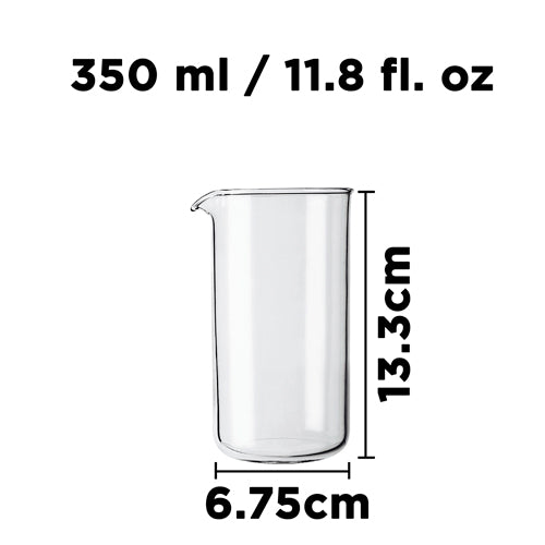 Parts & Accessories: Replacement Beaker - 350ml/11.8 fl. oz - Package of 4