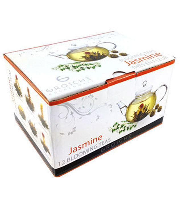 Blooming Tea: 12 pack - Jasmine Variety- Package of 4
