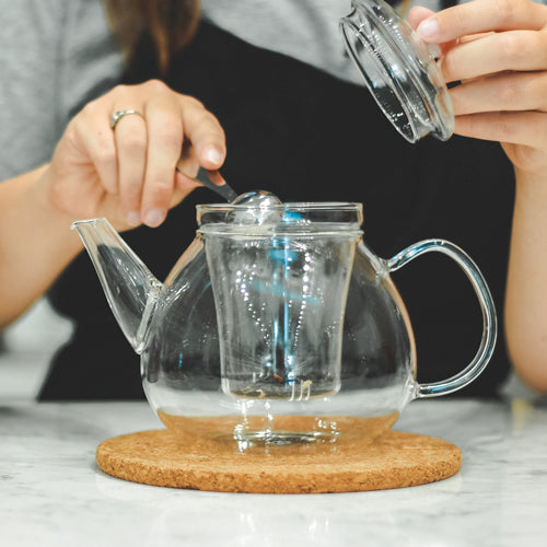 Infuser Teapot: GROSCHE Glasgow - 1000 ml/34 fl. oz - Package of 2