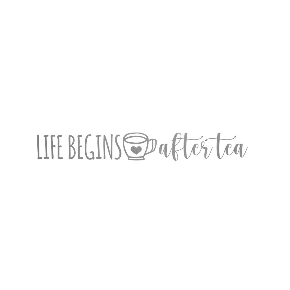 CHICAGO STEEL 16 fl. oz - Life Begins After Tea (Custom Laser Etched) - Pack of 4