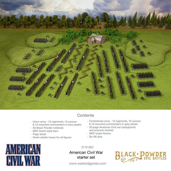 Epic Battles: American Civil War Starter Set 25% off With General Lee and General Meade RRP £100