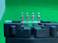 French Line Infantry Battalions at attention 96, 6mm miniatures.