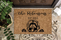 Labradoodle Doodle Dog  Custom Personalized Doormat