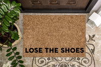 Lose the Shoes Doormat