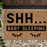Shh Baby Sleeping Doormat