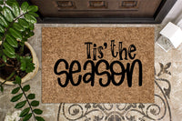 Tis The Season Christmas Front Doormat