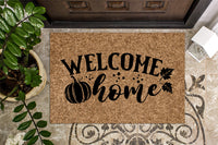 Fall Welcome  Home Door Mat