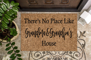 There's No Place Like Grandma and Grandpa's Doormat