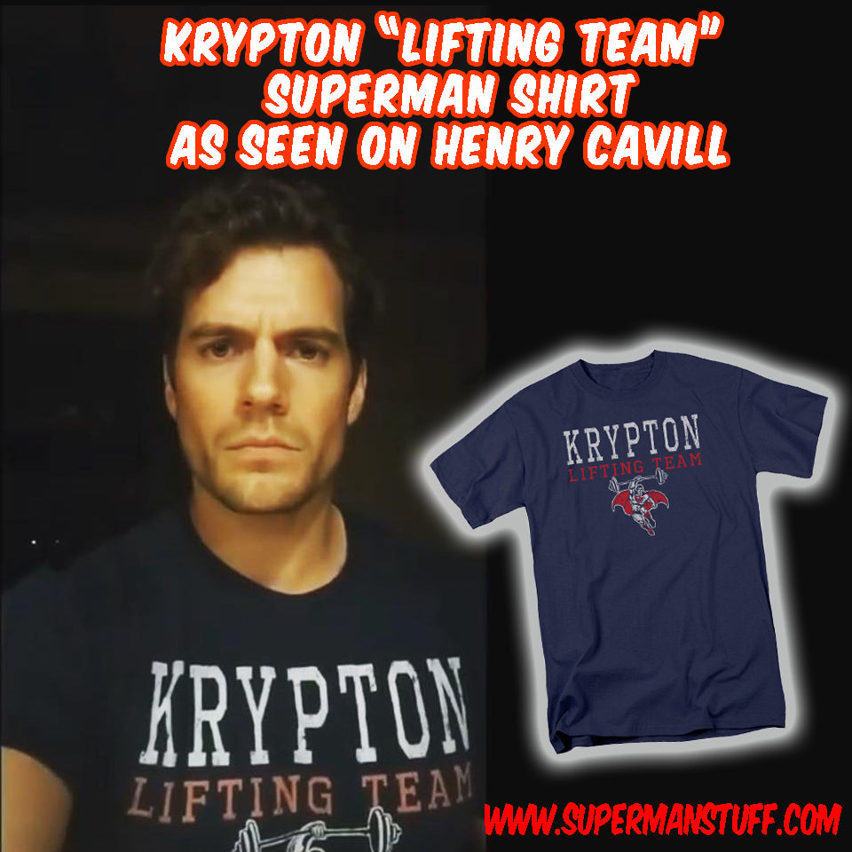 Superman Actor Henry Cavill is Sporting one of our Shirts on Instagram today!!!