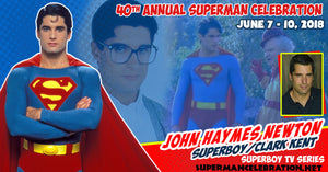Superboy Star John Haymes Newton will be a featured guest at this year's Superman Celebration