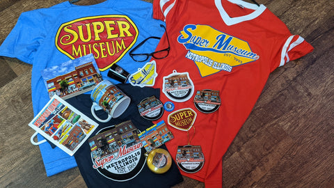 Super Museum Souvenir Items