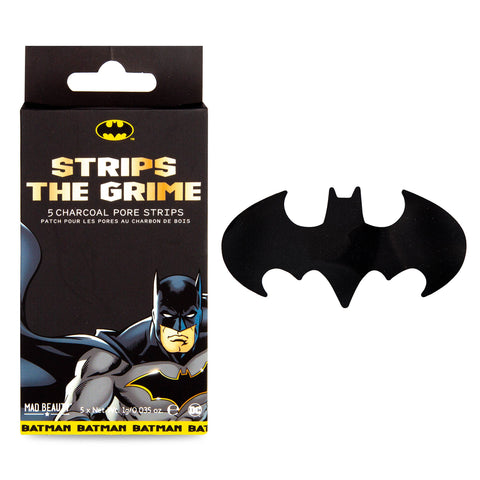 Batman Charcoal Pore Strips DC Comics