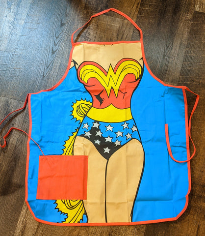 Wonder Woman One Size Fits All Apron