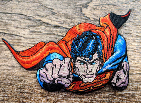 Superman Forward Flight Patch