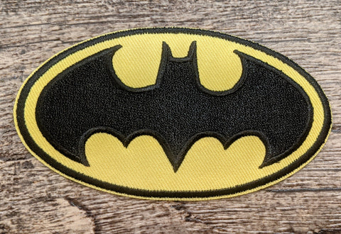 Batman Bat Symbol Patch