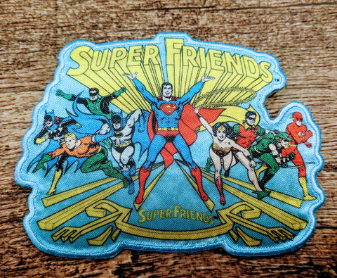 Classic Justice League Super Friends Patch
