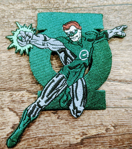 Green Lantern Ring in Action Patch