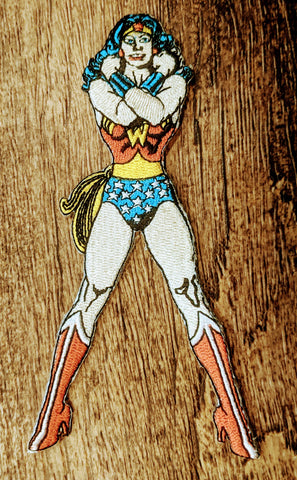 Wonder Woman Arms Crossed Standing Patch