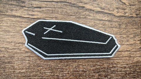 Black Coffin Patch