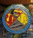 Cyborg Reign of the Supermen March 2021 Superman Man of Steel Collectors Group limited edition Coin