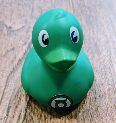 DC Comics Green Lantern Rubber Duck