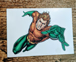 Aquaman Temporary Tattoo