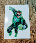 Green Lantern Temporary Tattoo